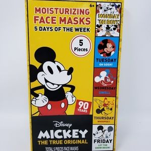 Disney Mickey 5 Days Moisturizing Face Mask